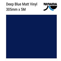 Matt Deep Navy Vinyl 305mm x 5M