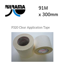 Ritrama P320 Clear Application Tape 300mm x 91M