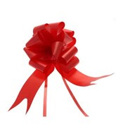 50mm Red Pull Bows 20pk