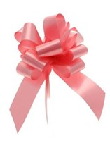50mm Pink Pull Bows 20pk