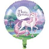 "Unicorn Fantasy Happy Birthday 18"" Foil Balloon"