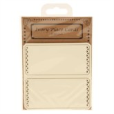 Laser Cut Ivory Place Cards 10pk