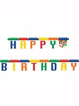 Block Party Happy Birthday Jointed Banner
