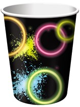 Glow Party Paper Cups 8pk