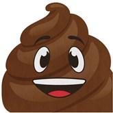 Emoji Poo Lunch Napkins 16pk