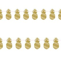 Pineapple garland party banner