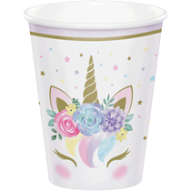 Unicorn Baby Paper Cups 8pk