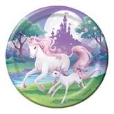 Unicorn Fantasy Large Paper Plates 8pk