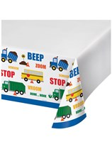 Traffic Jam Plastic Tablecover