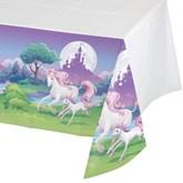 Unicorn Fantasy Plastic Tablecover