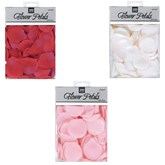 Fabric Flower 5cm Rose Petal Confetti 300pk