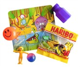 Party Bag Favour Contents with Sweets