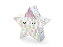 Mini Iridescent Sleepy Star Pinata / Table Decoration