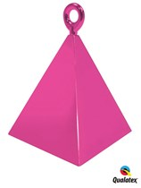 Magenta Pyramid Balloon Weight