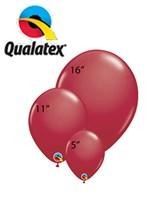 Qualatex Maroon Latex Balloons