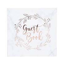 Rose Gold Guest Book