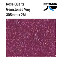 Gemstones Rose Pink Vinyl 305mm x 1M