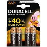 Duracell AA Batteries 4pk