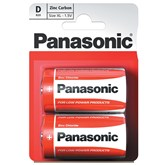 Panasonic D Batteries 2pk