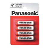 Panasonic AA Batteries 4pk