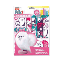 Secret Life of Pets 2 Sticker Set