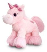 Glitter Gems Light Pink Unicorn Soft Toy