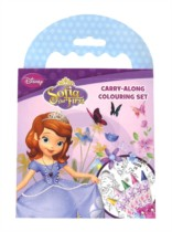 Sofia the First Carry-Along Colouring Set