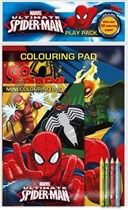 Marvel Ultimate Spiderman Play Pack