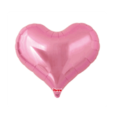 "Metallic Pink 25"" Jelly Heart Foil Balloon"