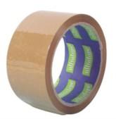 Ultratape brown parcel tape rolls 48mm x 40m - 6 pack