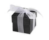 Black Favour Boxes 10pk