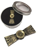 Brass Coloured Transformers Fidget Spinner With Box