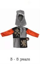Children's Knight Fancy Dress Costume - 3 - 5 yrs