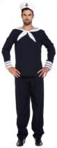 Adult Sailor Fancy Dress Costume