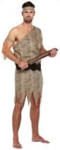 Adult Caveman Fancy Dress Costume