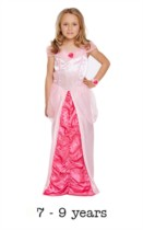 Children's Sleeping Beauty Princess Fancy Dress Costume 7 - 9 yrs
