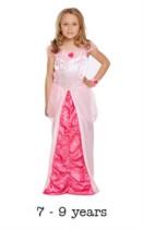 Children's Sleeping Beauty Princess Fancy Dress Costume 7 - 9 yrs