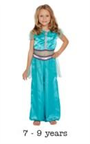 Children's Arabian Princess Fancy Dress Costume 7 - 9 yrs