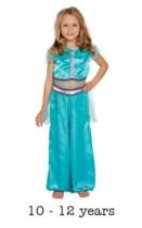 Children's Arabian Princess Fancy Dress Costume 10 - 12 yrs