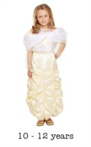 Children's Belle Beauty Princess Fancy Dress Costume 10 - 12 yrs