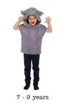 Children's Big Bad Wolf Book Day Fancy Dress Costume 7 - 9 yrs