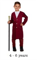 Child Chocolate Factory Man Book Day Fancy Dress Costume 4 - 6 yrs