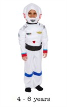 Children's Astronaut Fancy Dress Costume 4 - 6 yrs