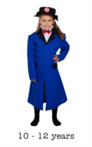Children's Victorian Nanny Book Day Fancy Dress Costume 10 - 12 yrs