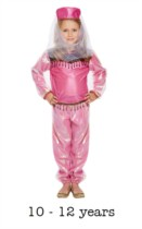 Children's Bollywood Fancy Dress Costume 10 - 12 yrs