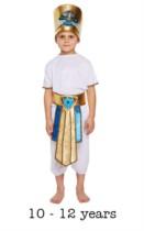 Children's Egyptian Boy Fancy Dress Costume 10 - 12 yrs