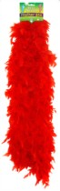 Red Feather Boa