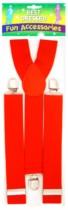 Fancy Dress Red Braces