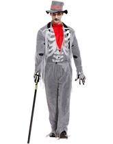 Adult Halloween Voodoo Man Fancy Dress Costume
