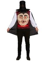 Adult Halloween Jumbo Vampire Fancy Dress Costume